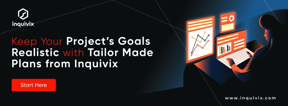 Keep Your Project's Goals Realistic with Tailor Made Plan from Inquivix