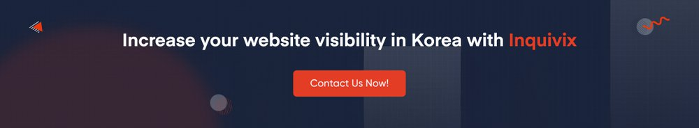 Increase your website visibility in Korea with Inquivix